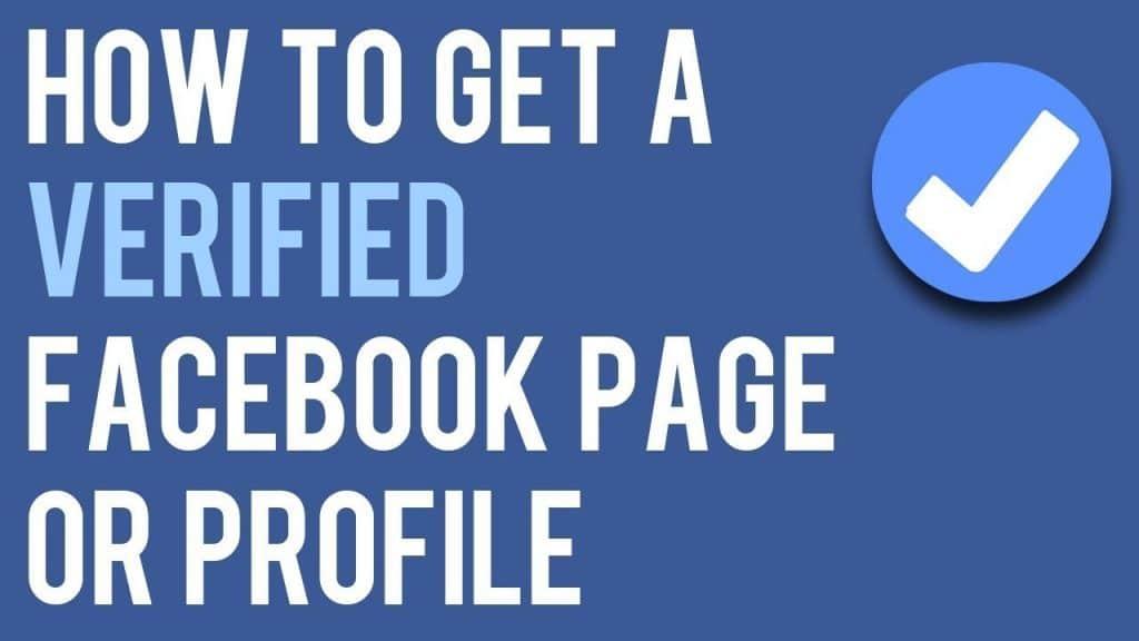 Facebook Profile Page Verification
