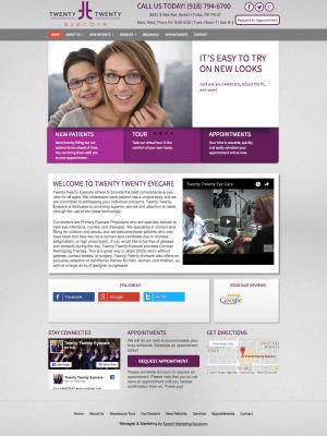 2020 Web Design before Sooner Marketing Solutions