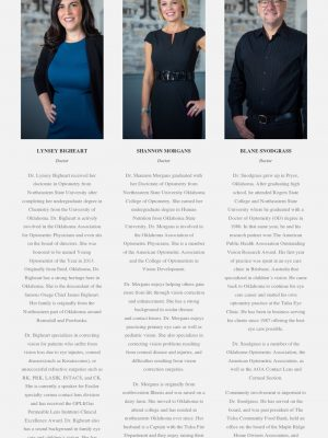 2020 Web Design by Sooner Marketing Solutions