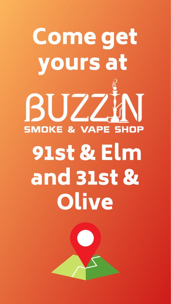 Buzzin Smoke & Vape Shop Story Posts