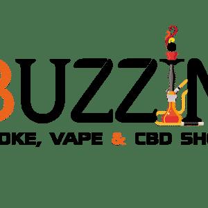 Buzzin Smoke Vape & CBD Shop Logo