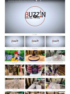 Buzzin Smoke, Vape, & CBD Shop Web Design, Search Engine Optimization, Video Marketing, Social Media Management & Marketing Marketing by Sooner Marketing Solutions a Digital Marketing Company