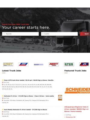 CDL Hunter New Web Design