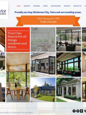 OneSource Windows & Doors Web Before Sooner Marketing Solutions