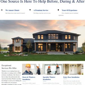 OneSource Windows & Doors Web Design After Sooner Marketing Solutions