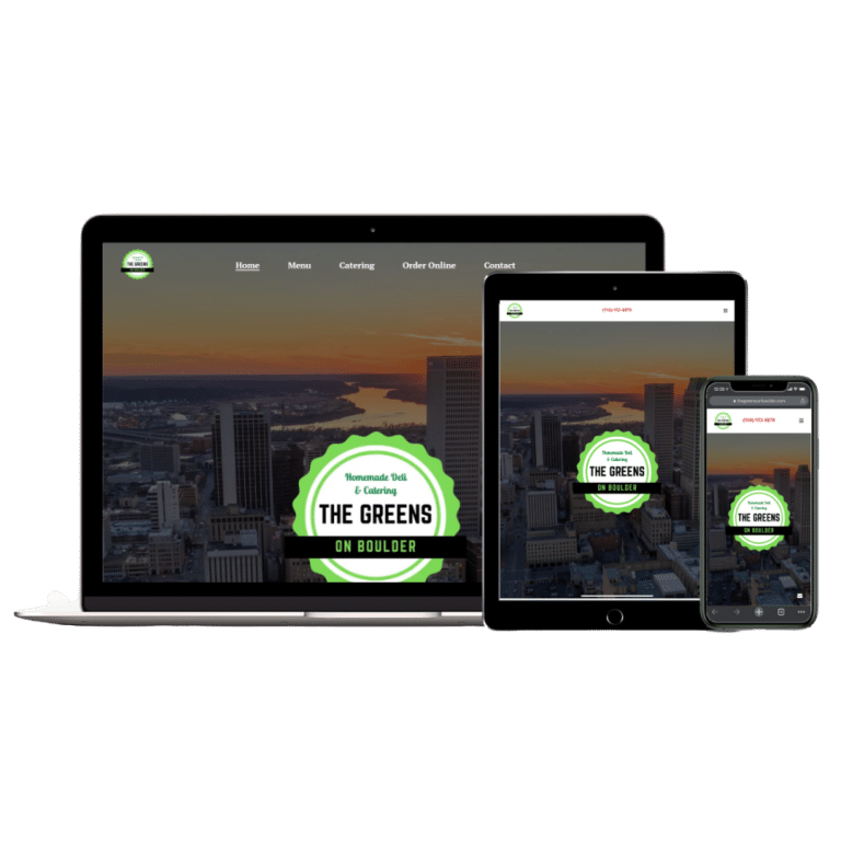 The Greens On Boulder Web Design
