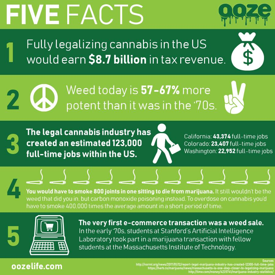 Cannabis Marketing Infographics
