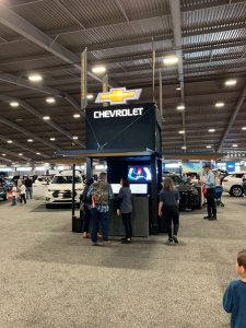 Tulsa Auto Show Event Experiential Marketing Custom Booths for Exhibitors/Sponsors