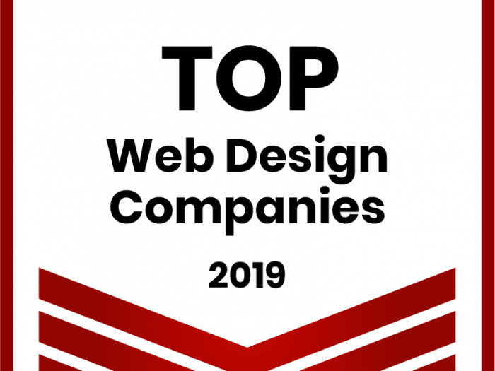 Top Web Design company in 2019