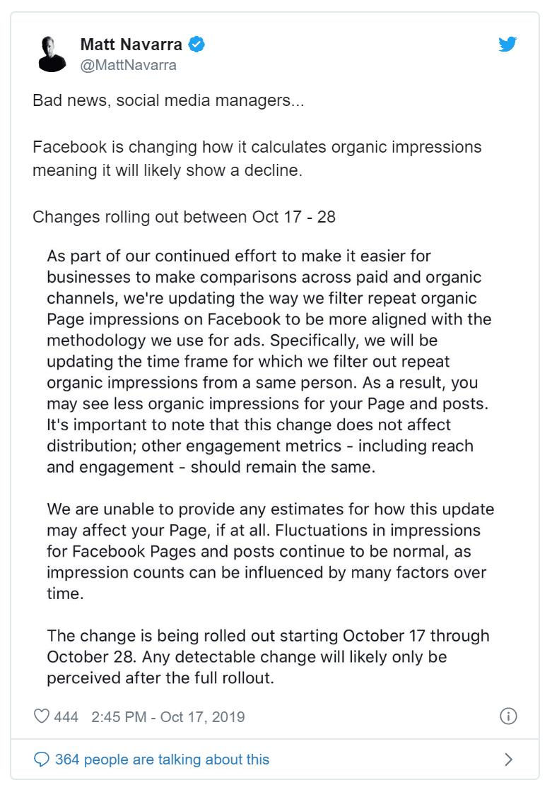 Facebook is Removing Grey Badges on October 30