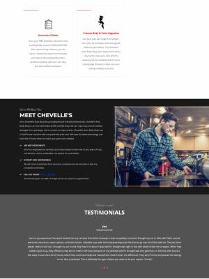 Chevelle's Auto Body Repair Home Page