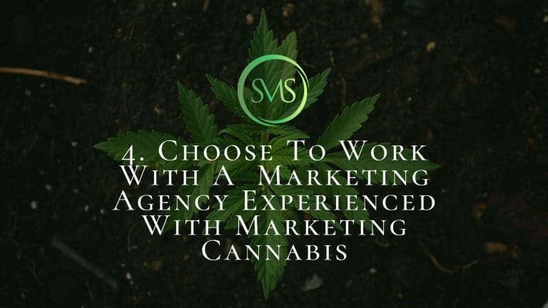 Choose To Work With A Marketing Agency Experienced With Marketing Cannabis