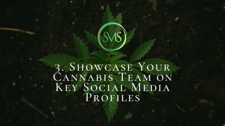 Showcase Your Cannabis Team On Key Social Media Profiles
