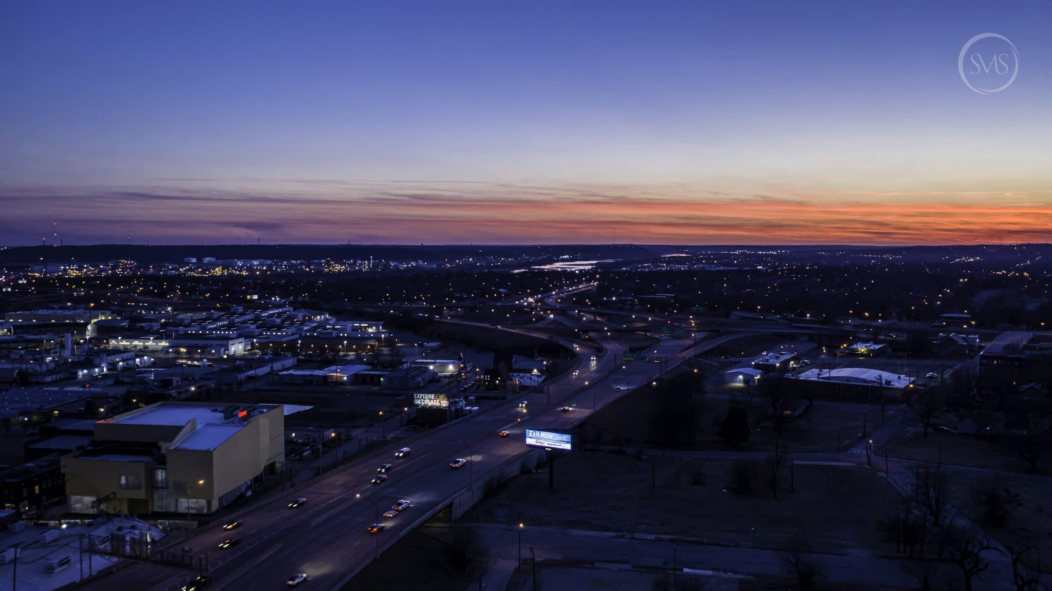 Downtown Tulsa Sunset